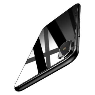 Baseus Back Cover Tempered Glass iPhone X