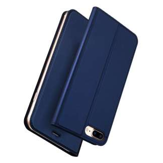Dux Ducis iPhone 8/7 Plus Wallet Case Slimline - Blauw