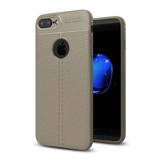 Just in Case Soft Design TPU iPhone 8/7 Plus Case (Slate Grey)