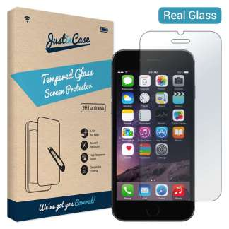 Just in Case Tempered Glass iPhone 6/6s