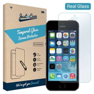 Just in Case Tempered Glass iPhone SE / 5s / 5c / 5