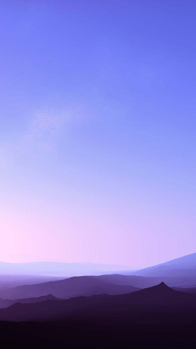 Cute Pink Wallpaper Hd Clear Sky Sunset Fog Over Mountains Iphone Wallpaper
