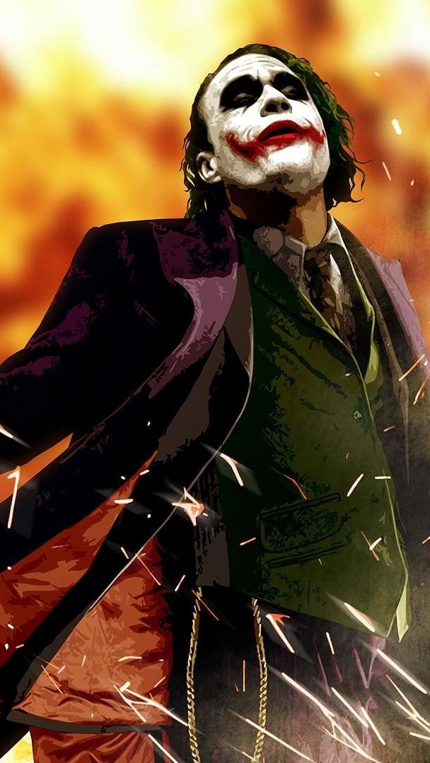 Anime Wallpaper For Ipod Dark Knight Joker Art Iphone Wallpaper Iphone Wallpapers