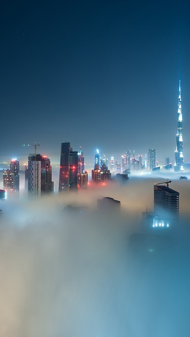 Cool Quotes Wallpapers Download Dubai Cityscapes In Night Iphone Wallpaper Iphone Wallpapers