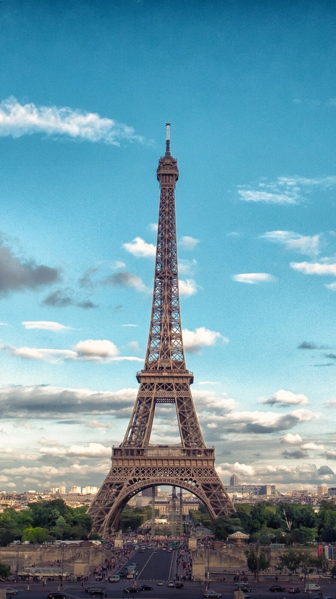 May Girls Wallpaper Eiffel Tower Front View Iphone Wallpaper Iphone Wallpapers
