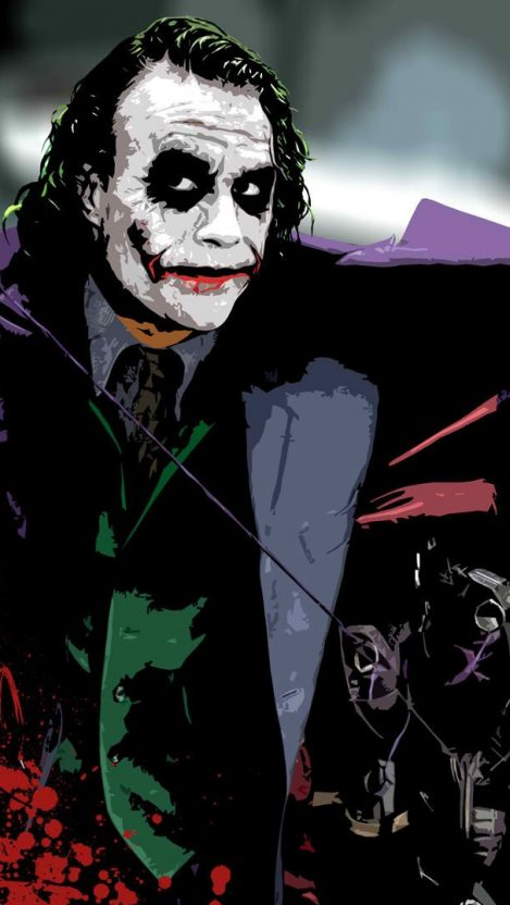 Joker Quotes Hd Wallpapers For Mobile Heath Ledger Joker Wallpaper Iphone Wallpaper Iphone
