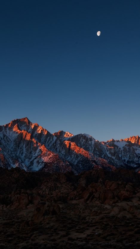 Fall Cell Phone Wallpapers Mount Whitney Alabama Hills Iphone Wallpaper Iphone