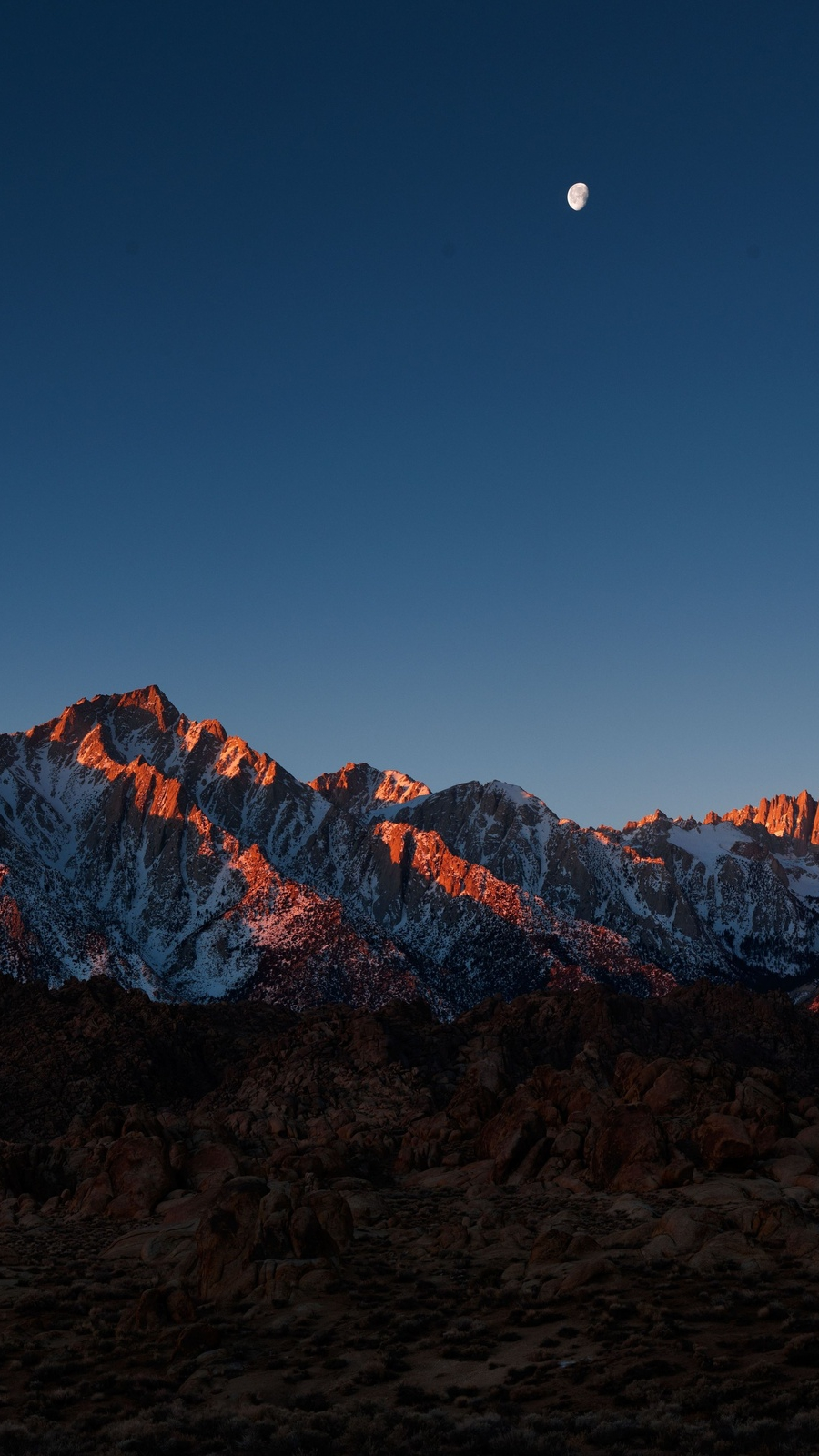 Fall Cell Phone Wallpaper Mount Whitney Alabama Hills Iphone Wallpaper Iphone
