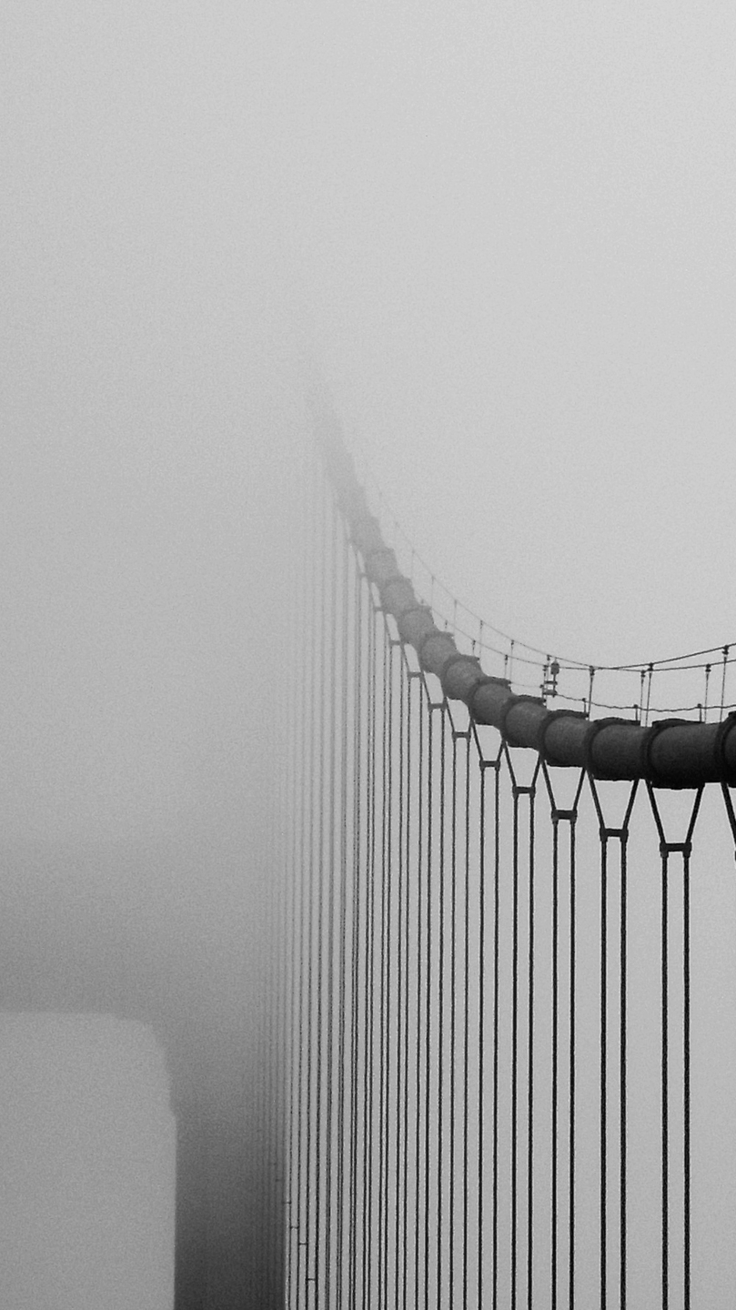 I Love You Quotes With Wallpapers Golden Gate Bridge In Fog Iphone Wallpaper Iphone Wallpapers