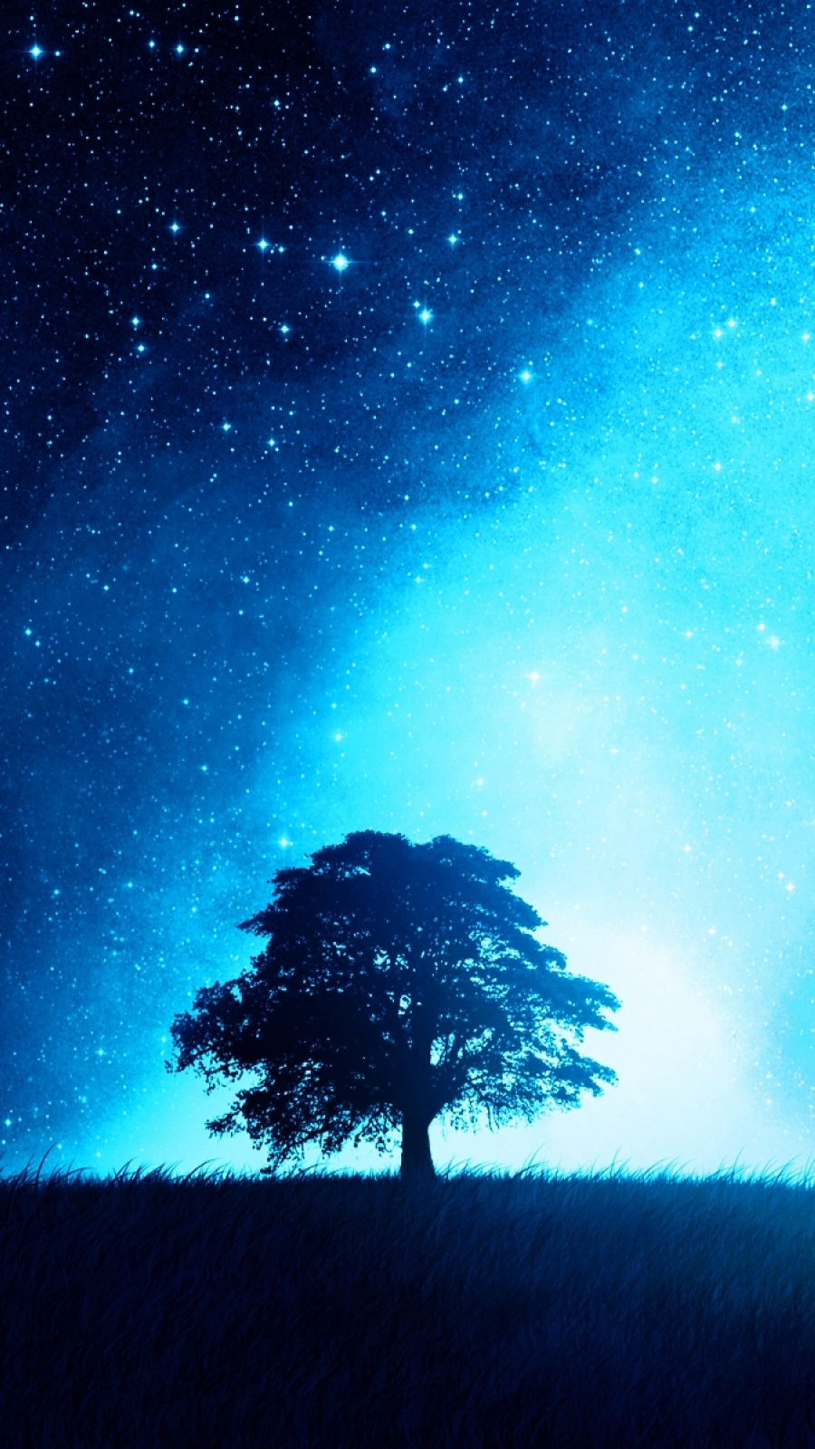 Minimalist Iphone Wallpaper Quotes Night Sky Tree Iphone Wallpaper Iphone Wallpapers