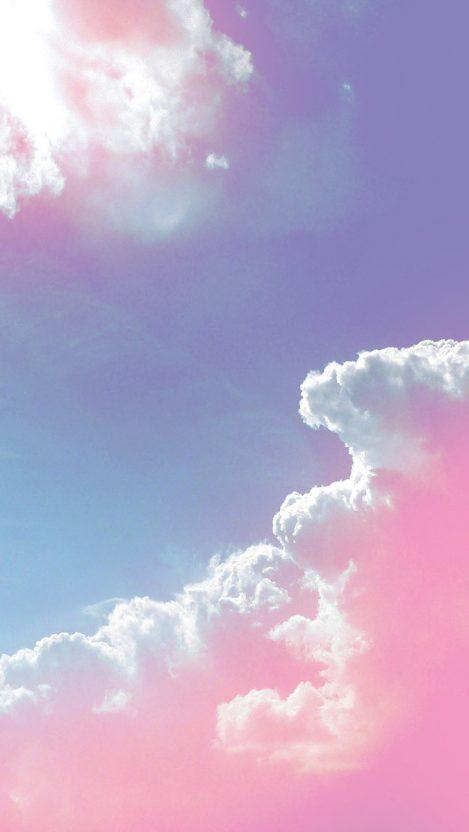 Cute Halloween Computer Wallpaper Pink Clouds Iphone Wallpaper Iphone Wallpapers