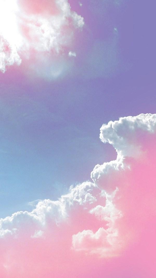 PinkCloudsiPhoneWallpaper iPhone Wallpapers