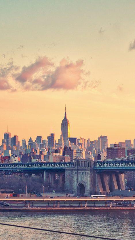 Artistic Iphone Wallpaper Hd New York Manhattan Bridge Iphone Wallpaper Iphone Wallpapers