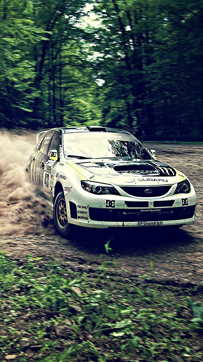 Hd Car Wallpapers Subaru Subaru Rally Car Drifting Wallpaper Iphone Wallpaper