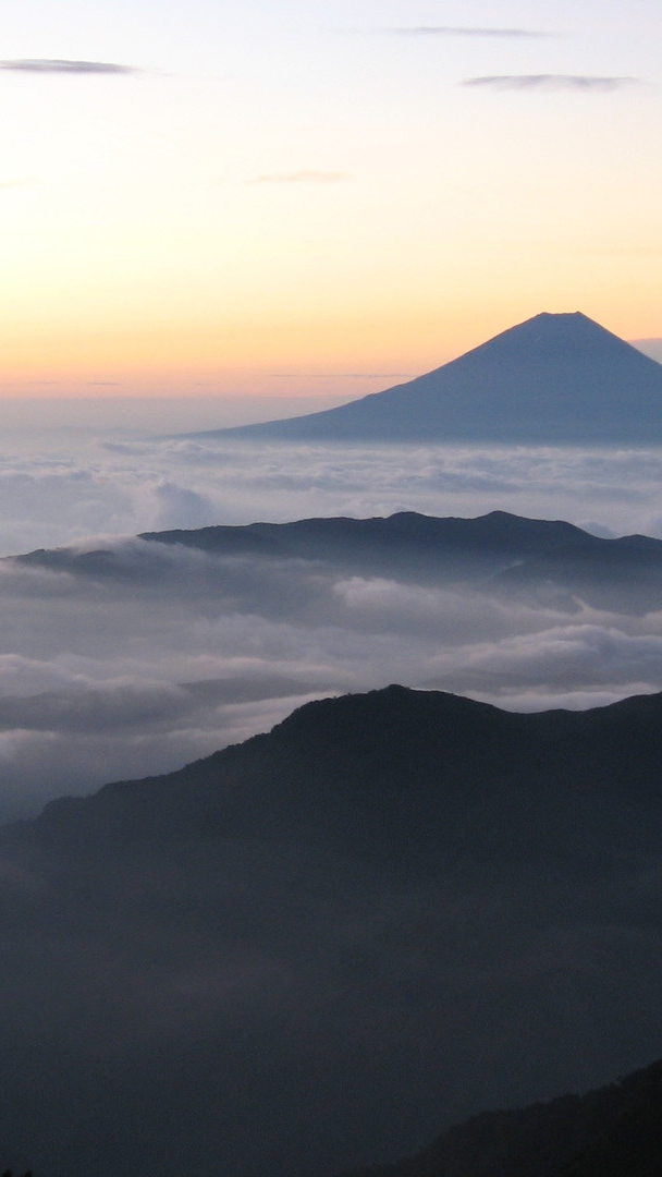 Quotes Wallpaper Phone Sunrise From Mount Fuji Japan Iphone Wallpaper Iphone