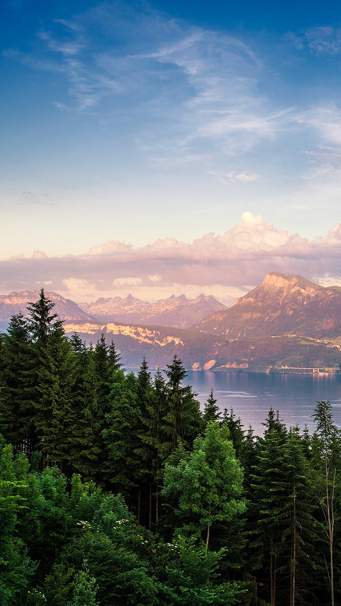 Quotes Wallpaper For Iphone 7 Plus Switzerland Mountains Clouds Sunset Iphone Wallpaper