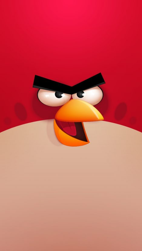 Angry Bird Girl Wallpaper Angry Birds Red Iphone Wallpaper Iphone Wallpapers
