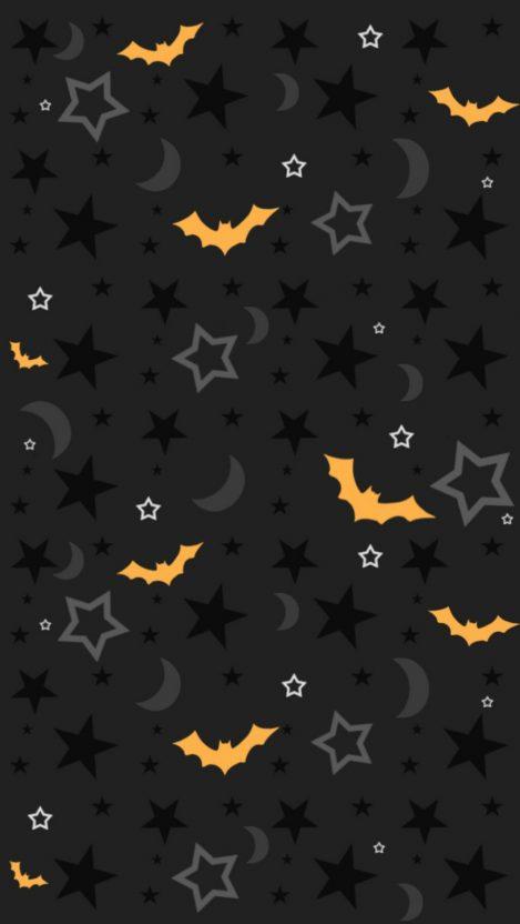Cute Pumpkin Wallpaper Iphone Halloween Bats Iphone Wallpaper Iphone Wallpapers