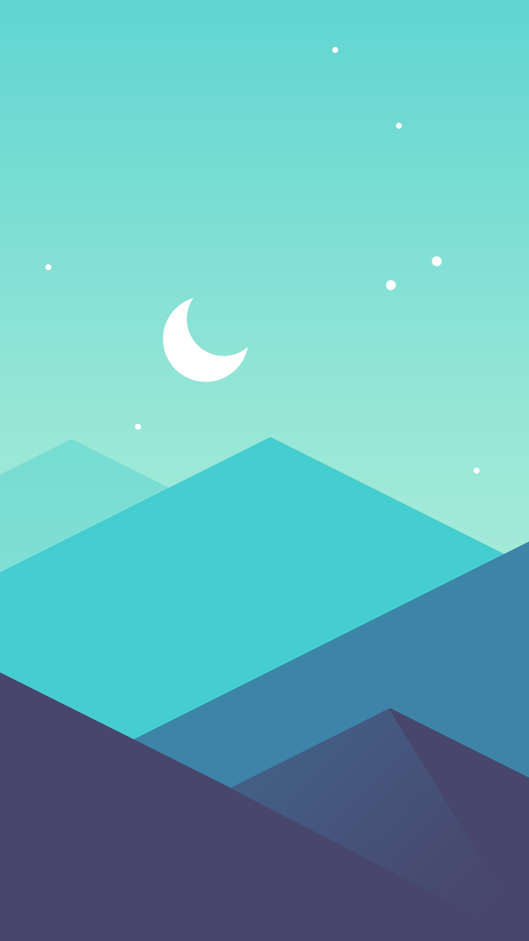 Cute Wallpapers With Quotes For Whatsapp Minimal Mountains Moon Iphone Wallpaper Iphone Wallpapers