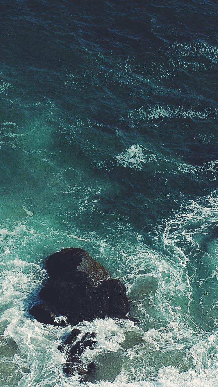 Cute Quotes Wallpapers For Desktop Ocean Rock Iphone Wallpaper Iphone Wallpapers