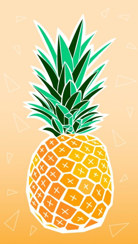 Pineapple Cute Wallpaper Pineapple Iphone Wallpaper Iphone Wallpapers