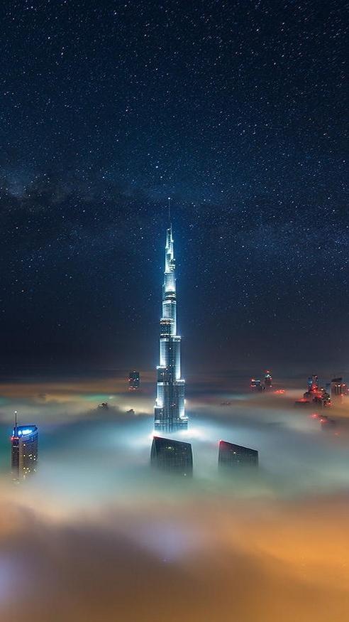 House Quotes Wallpaper Dubai Burj Khalifa Tower Iphone Wallpaper Iphone Wallpapers