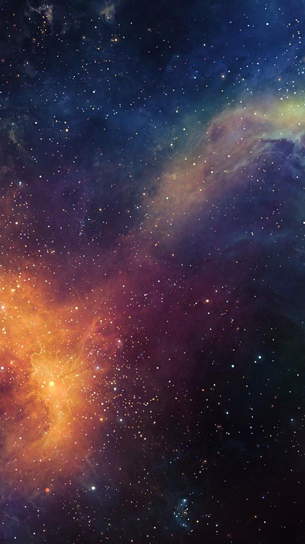 Cute Halloween Computer Wallpaper Galaxy Nebula Space Infinite Stars Wallpaper Iphone
