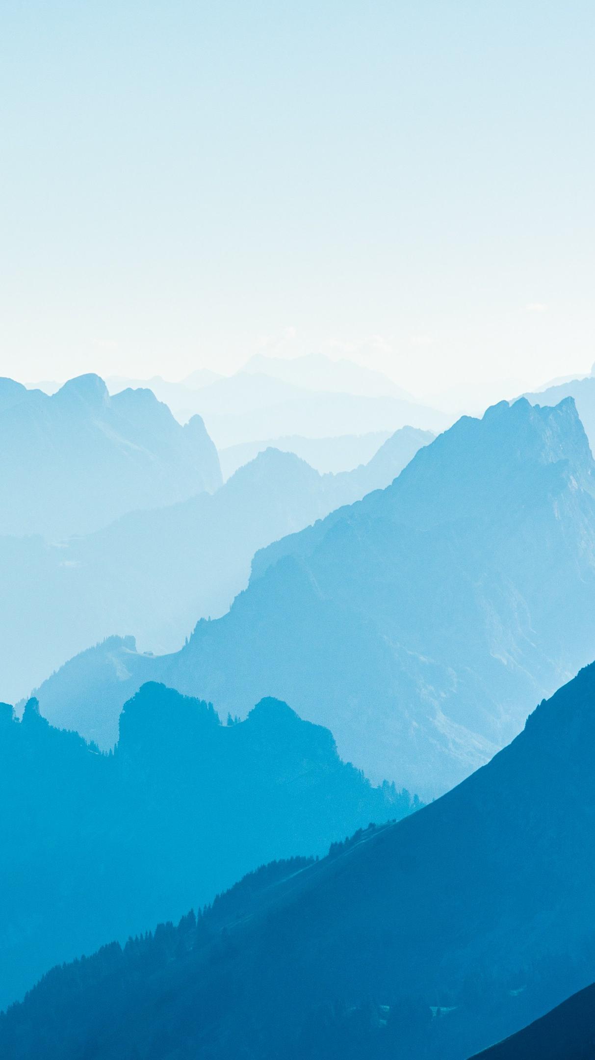Cute Yoda Wallpaper Sunrise Mountains Fog Nature Iphone Wallpaper Iphone