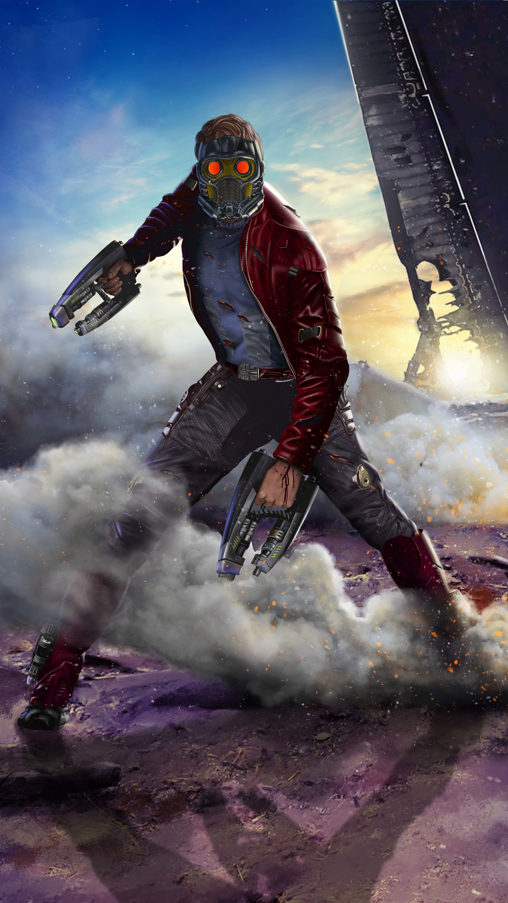 2 Girls Wallpaper Guardians Of The Galaxy Star Lord Iphone Wallpaper