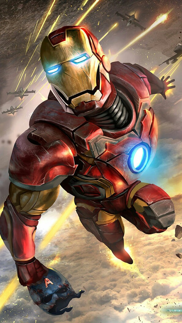 Cute Wallpaper For Iphone 4s Iron Man Avengers Art Iphone Wallpaper Iphone Wallpapers