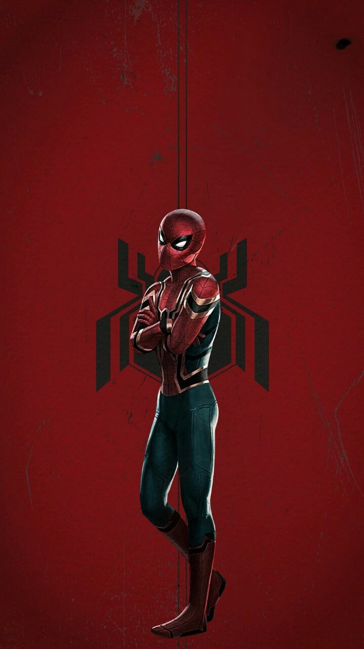 Cute Black Panther Wallpaper Iron Spider Suit Avengers Iphone Wallpaper Iphone Wallpapers