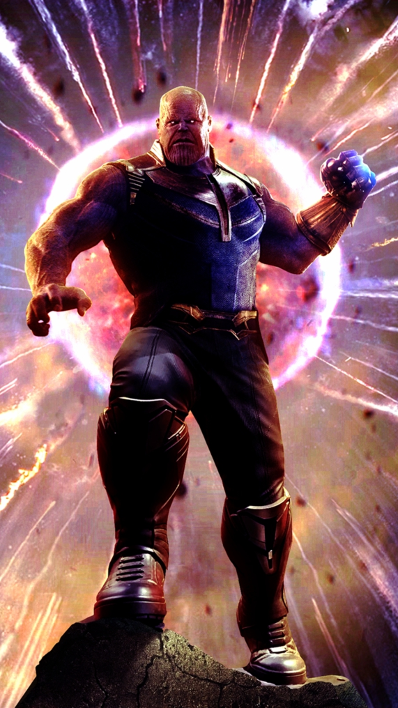 Animal Man Wallpaper Thanos Pulled The Moon Avengers Iphone Wallpaper Iphone