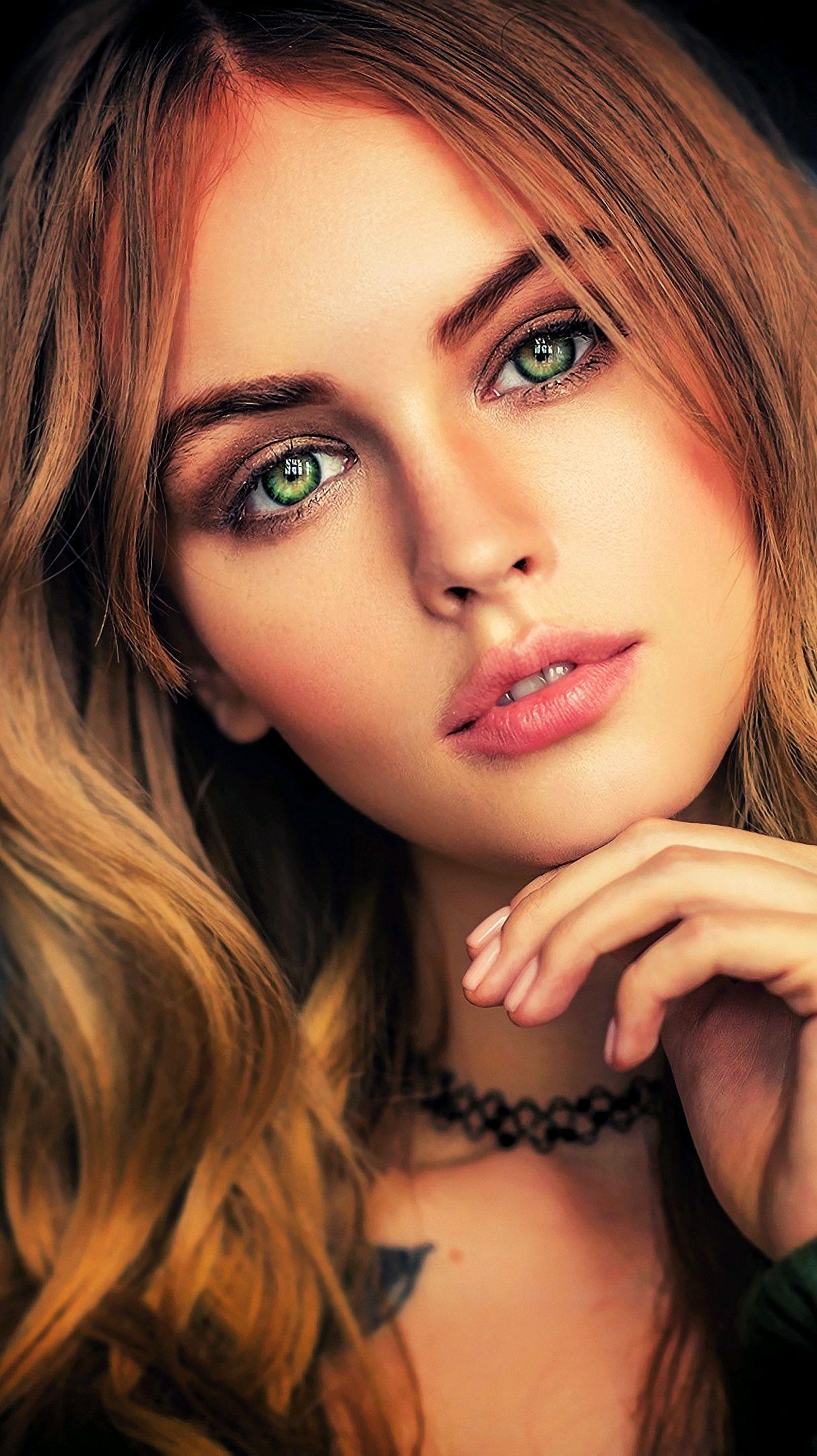 Cute Girly Iphone 6 Wallpaper Anastasia Scheglova Beautiful Face Girl Eyes Iphone