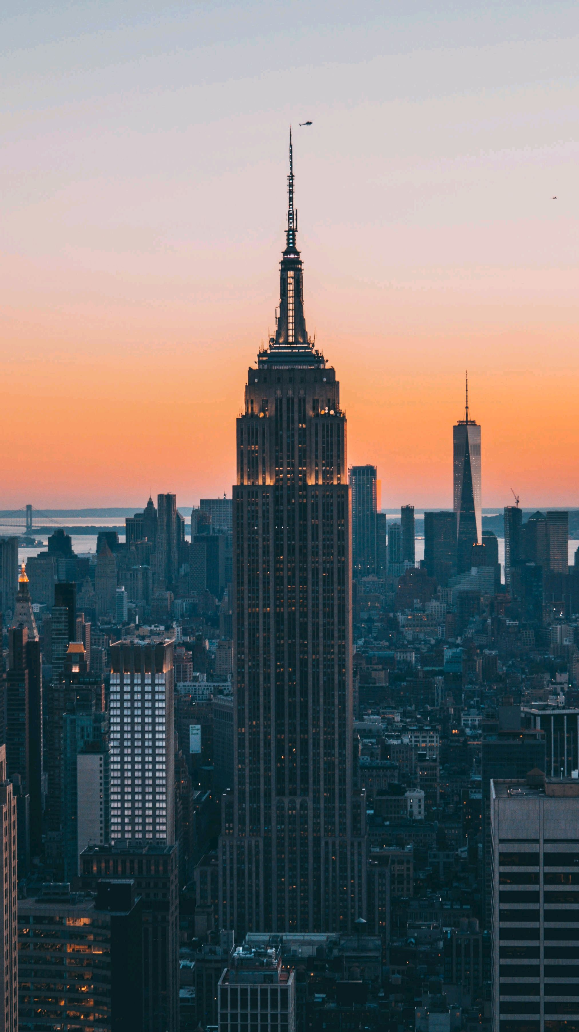 Enemy Wallpaper Quotes Empire State Building New York Evening Iphone Wallpaper
