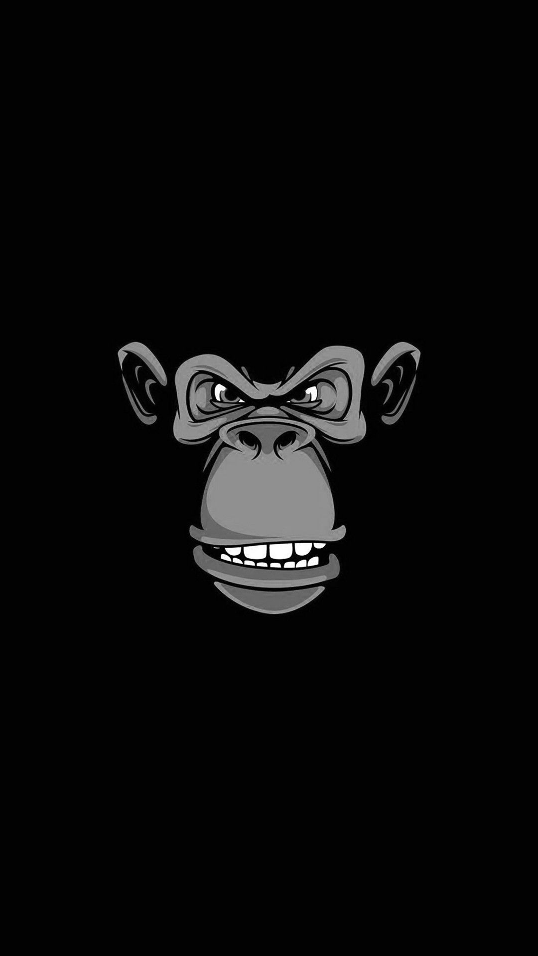 Cute Monkey Wallpapers For Mobile Evil Monkey Iphone Wallpaper Iphone Wallpapers