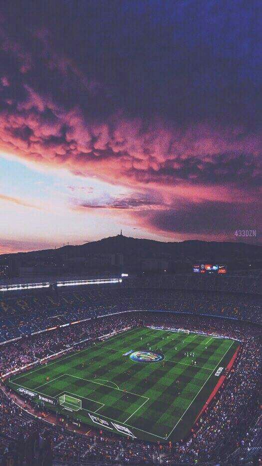 Cute Ipad Wallpapers Football Stadium Clouds Iphone Wallpaper Iphone Wallpapers