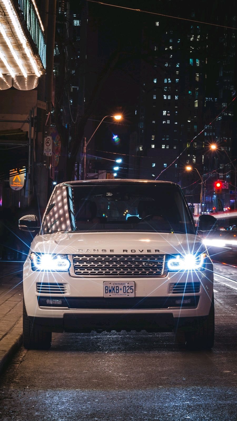 Hd Car Games Wallpapers Range Rover Vogue Night Lights Luxury Iphone Wallpaper