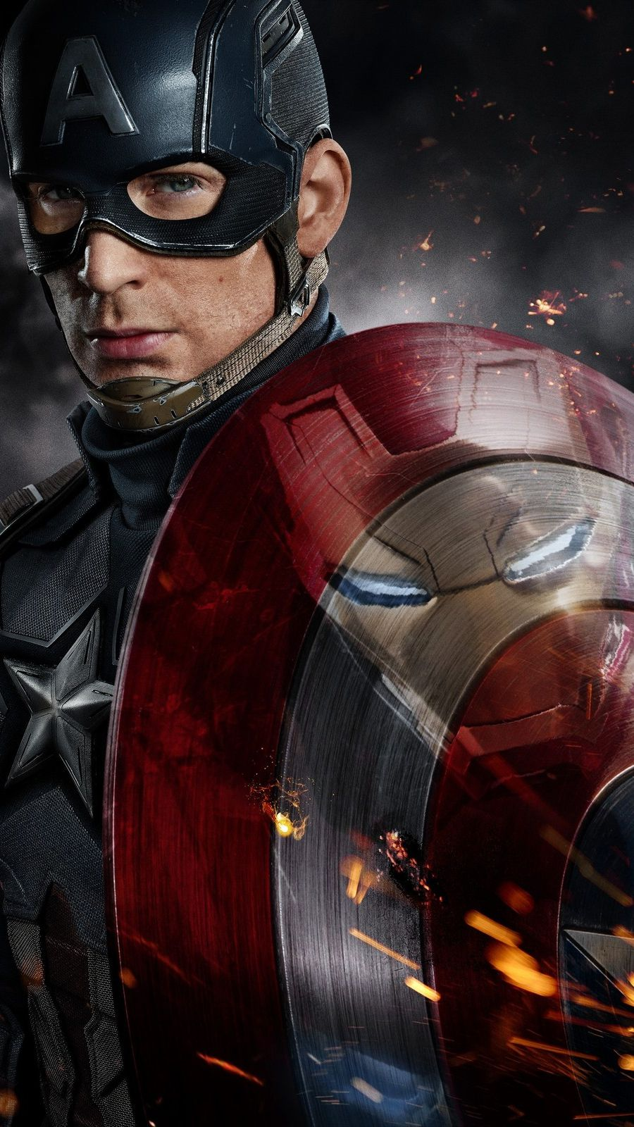 Joker Quotes Hd Wallpapers 1080p Captain America Vs Iron Man Fight Iphone Wallpaper