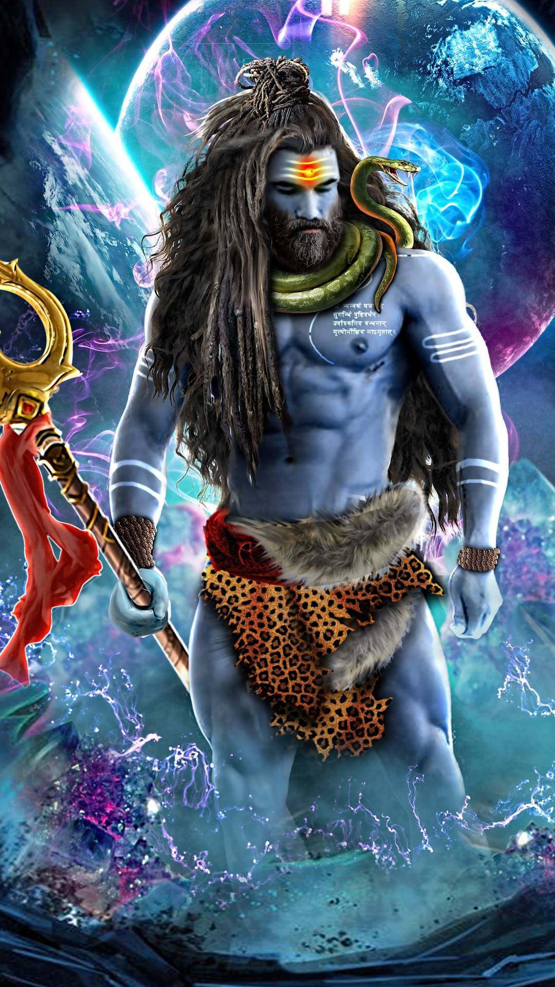 Hanuman Animated Wallpaper Shri Hanuman Chalisa 3D ...