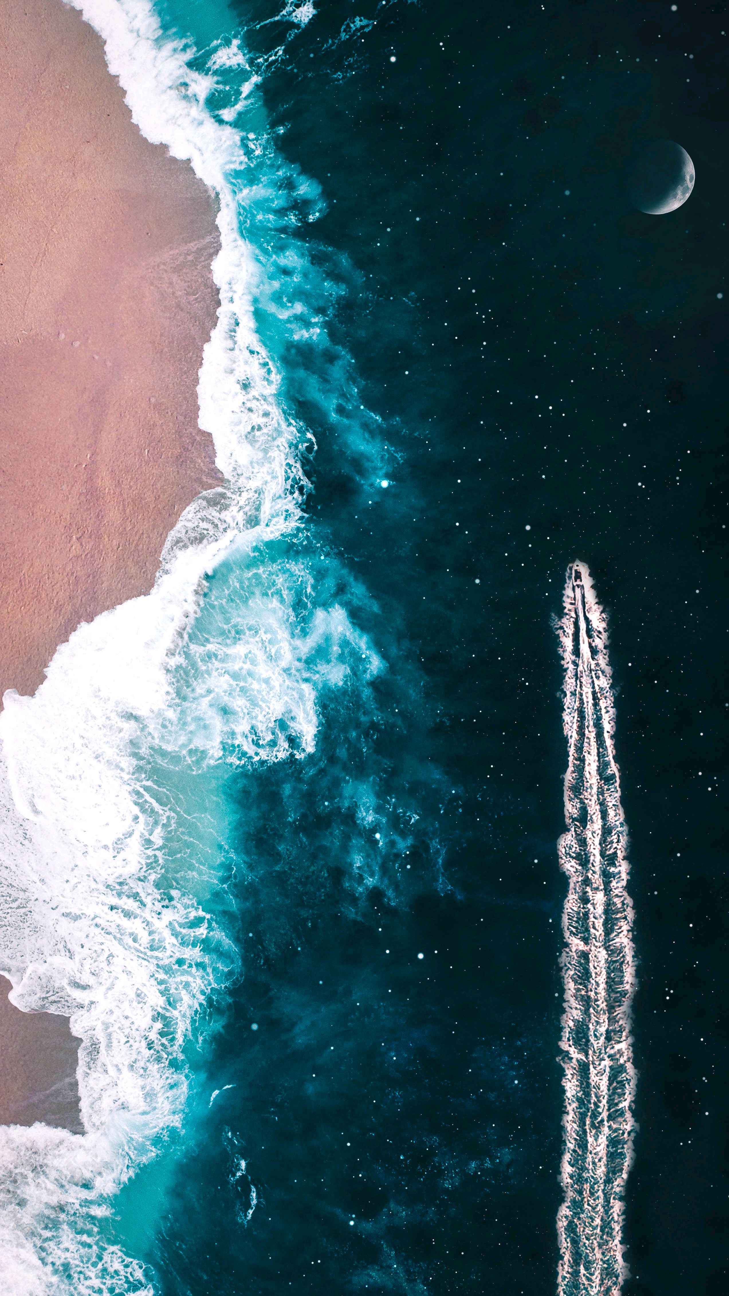 Cute And Cool Wallpapers For Iphone Sailing In Sea Of Stars Iphone Wallpaper Iphone Wallpapers