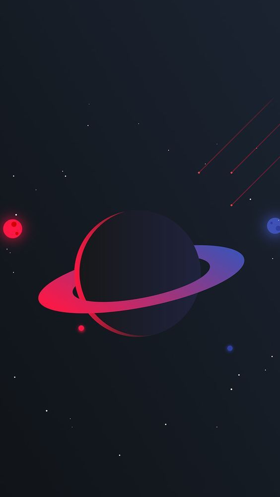 Cute Paris Wallpaper For Ipad Saturn Planet Simple Iphone Wallpaper Iphone Wallpapers