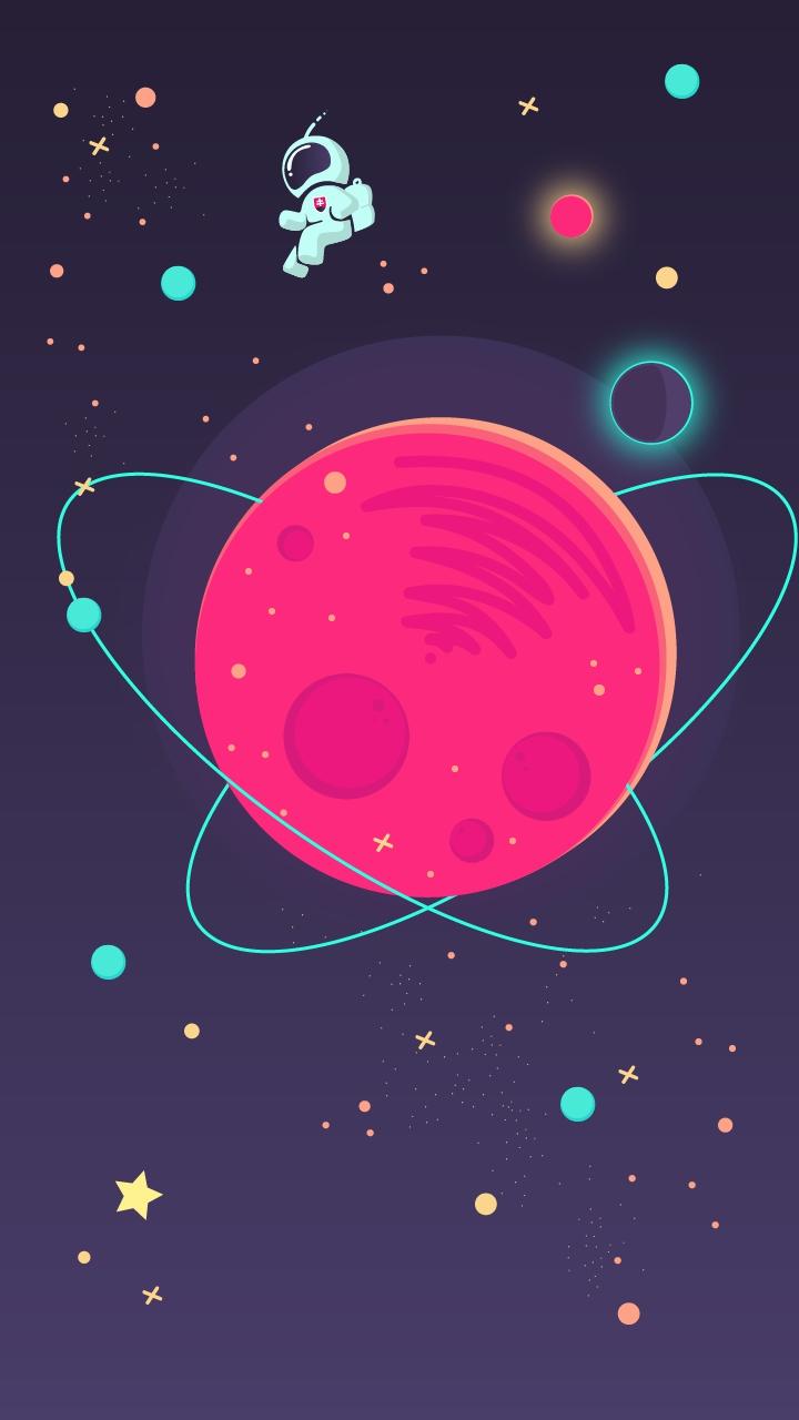 Animal Planet Wallpaper Space Minimal Astronaut Art Iphone Wallpaper Iphone