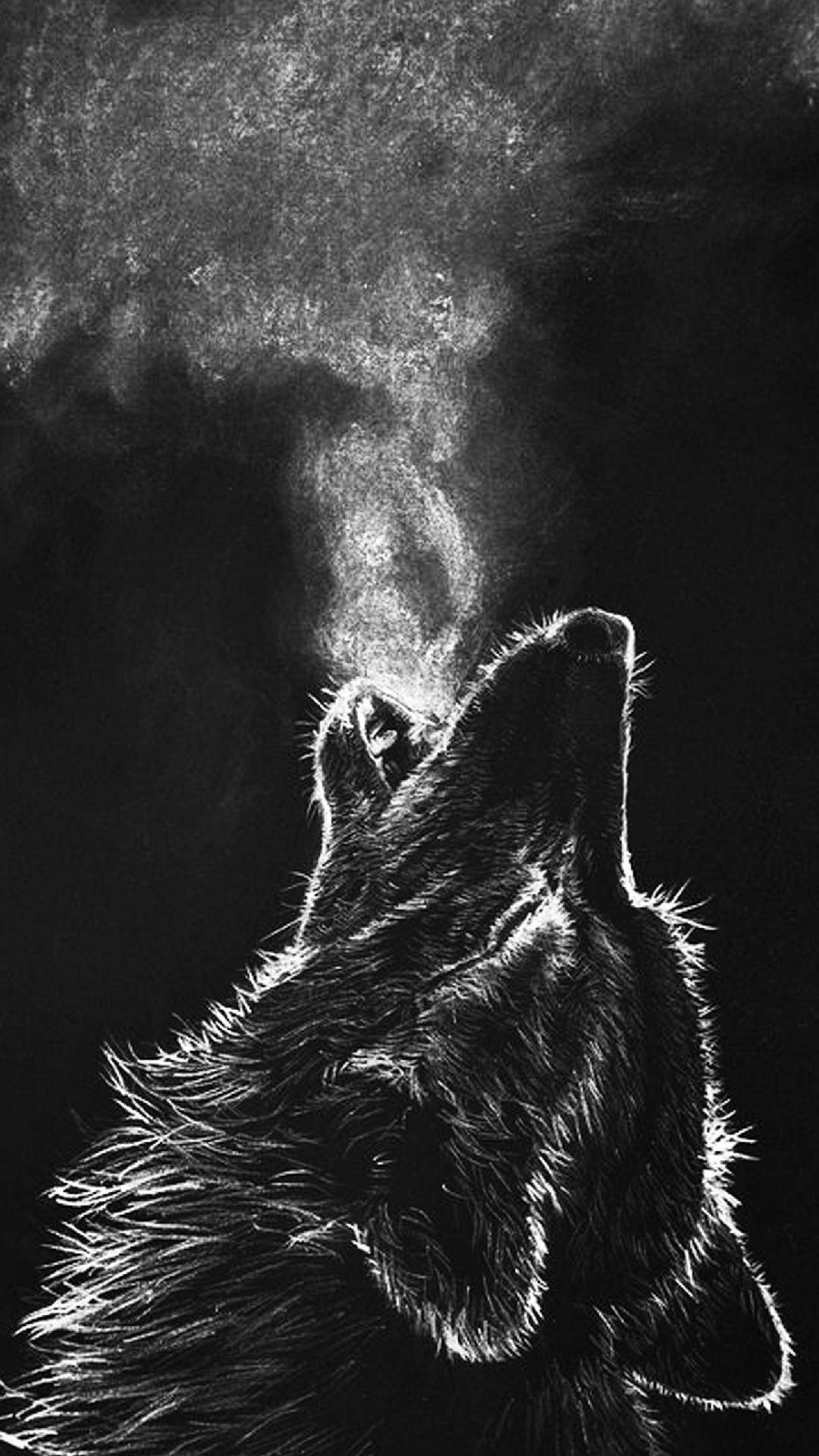 Cute Quotes Wallpapers Hd Wolf Howl Iphone Wallpaper Iphone Wallpapers