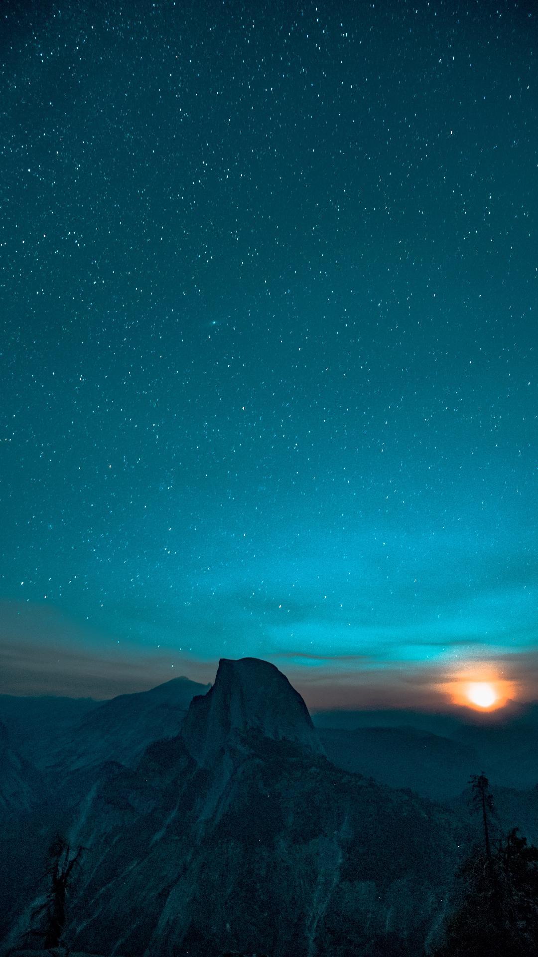 Cute Wallpapers For Lg Phones Yosemite National Park Night Sky Iphone Wallpaper Iphone