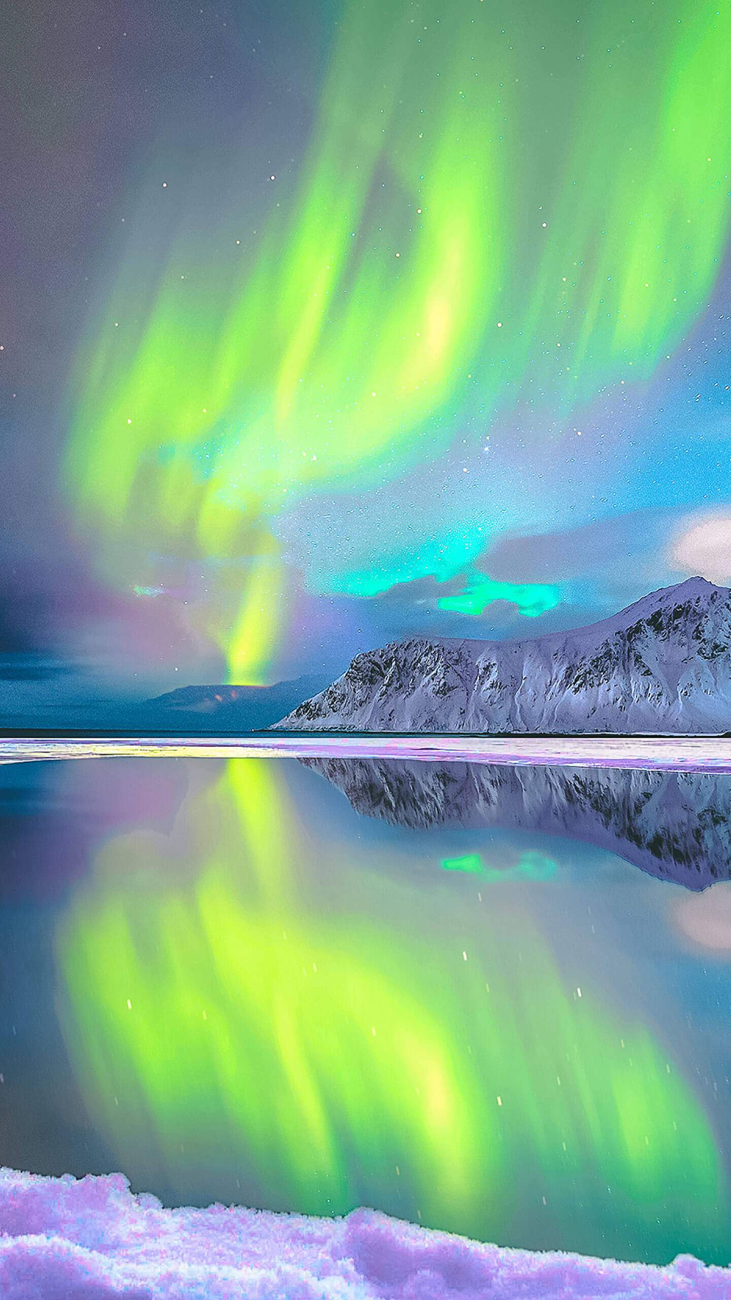 Halloween Wallpapers Cute Aurora Borealis Norway Iphone Wallpaper Iphone Wallpapers