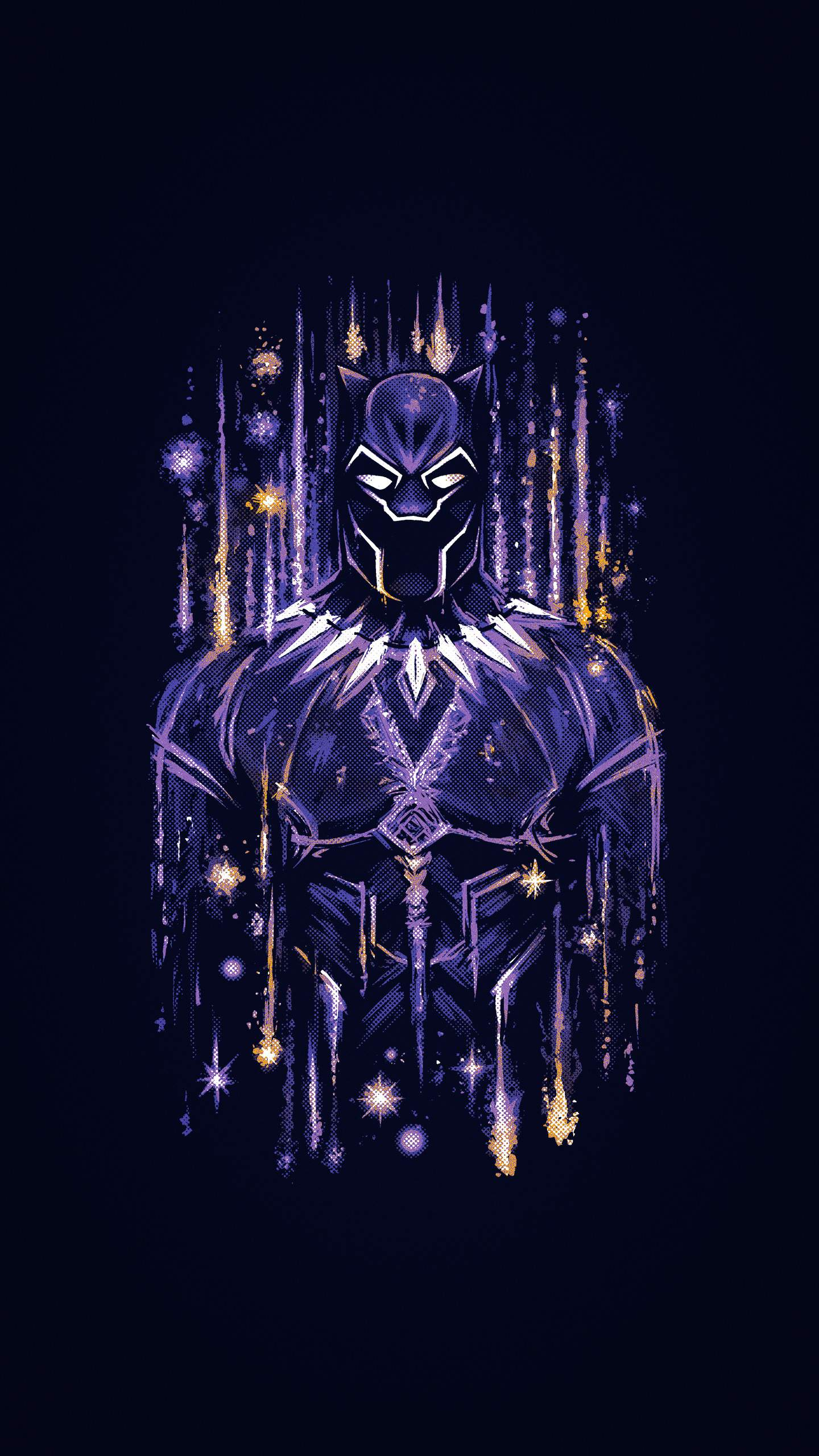 Wallpaper For Phone Quotes Black Panther Wakanda Artwork Iphone Wallpaper Iphone
