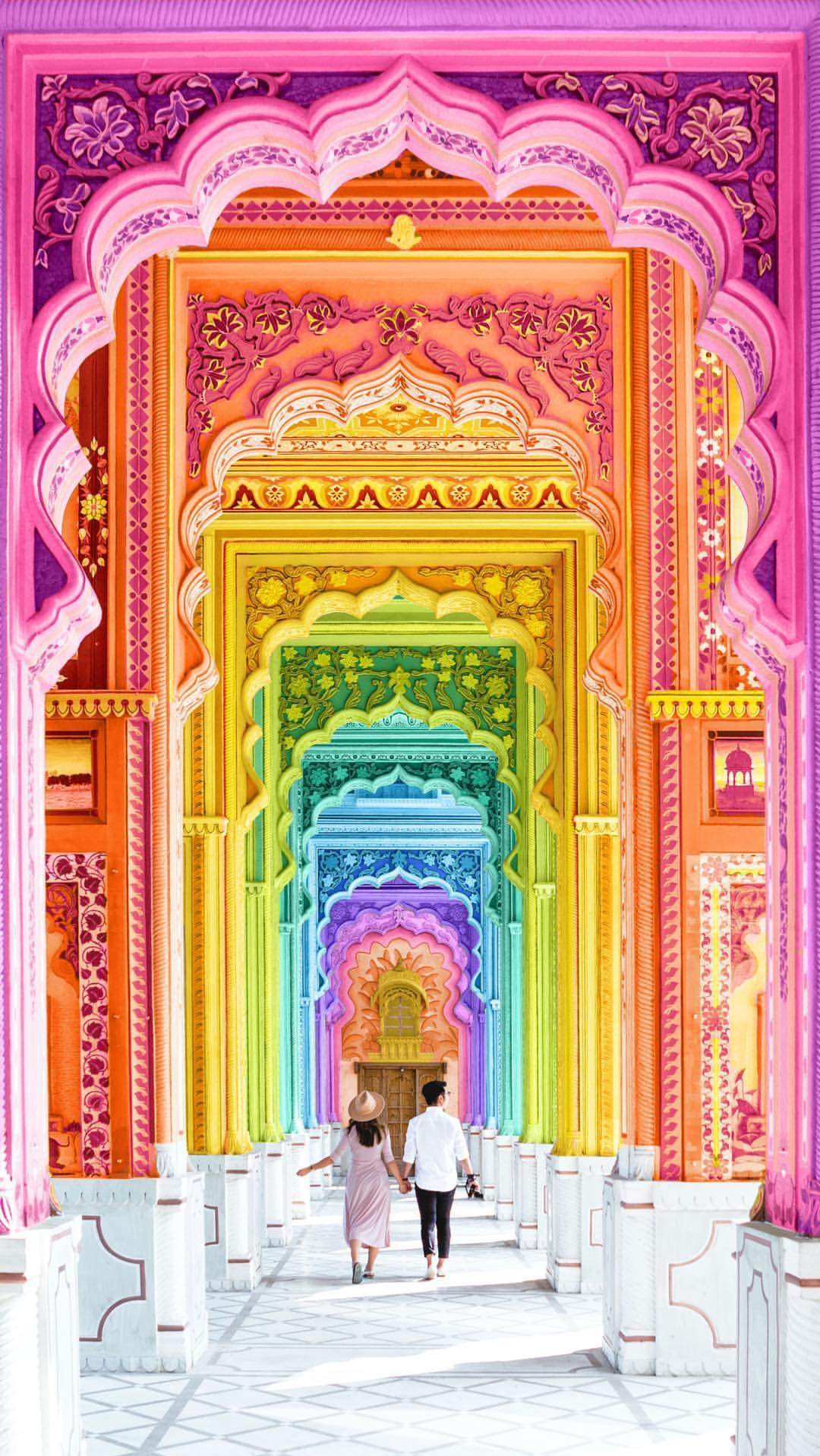 Golden Girls Home Wallpaper Colorful Historical Place Rajasthan Iphone Wallpaper