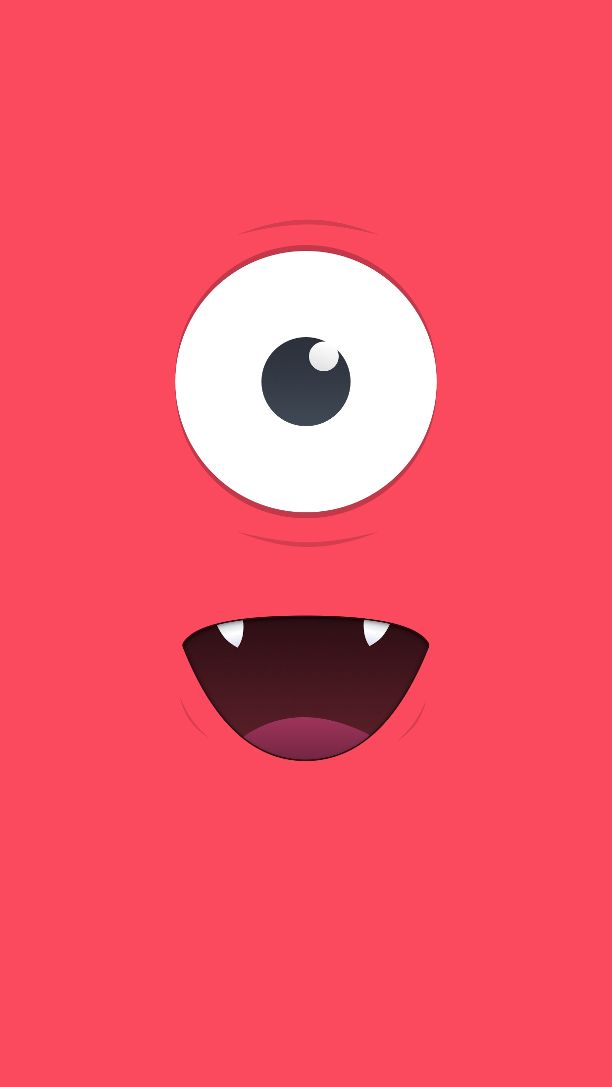 Cute Monster Wallpaper Iphone Cute Red Monster Iphone Wallpaper Iphone Wallpapers