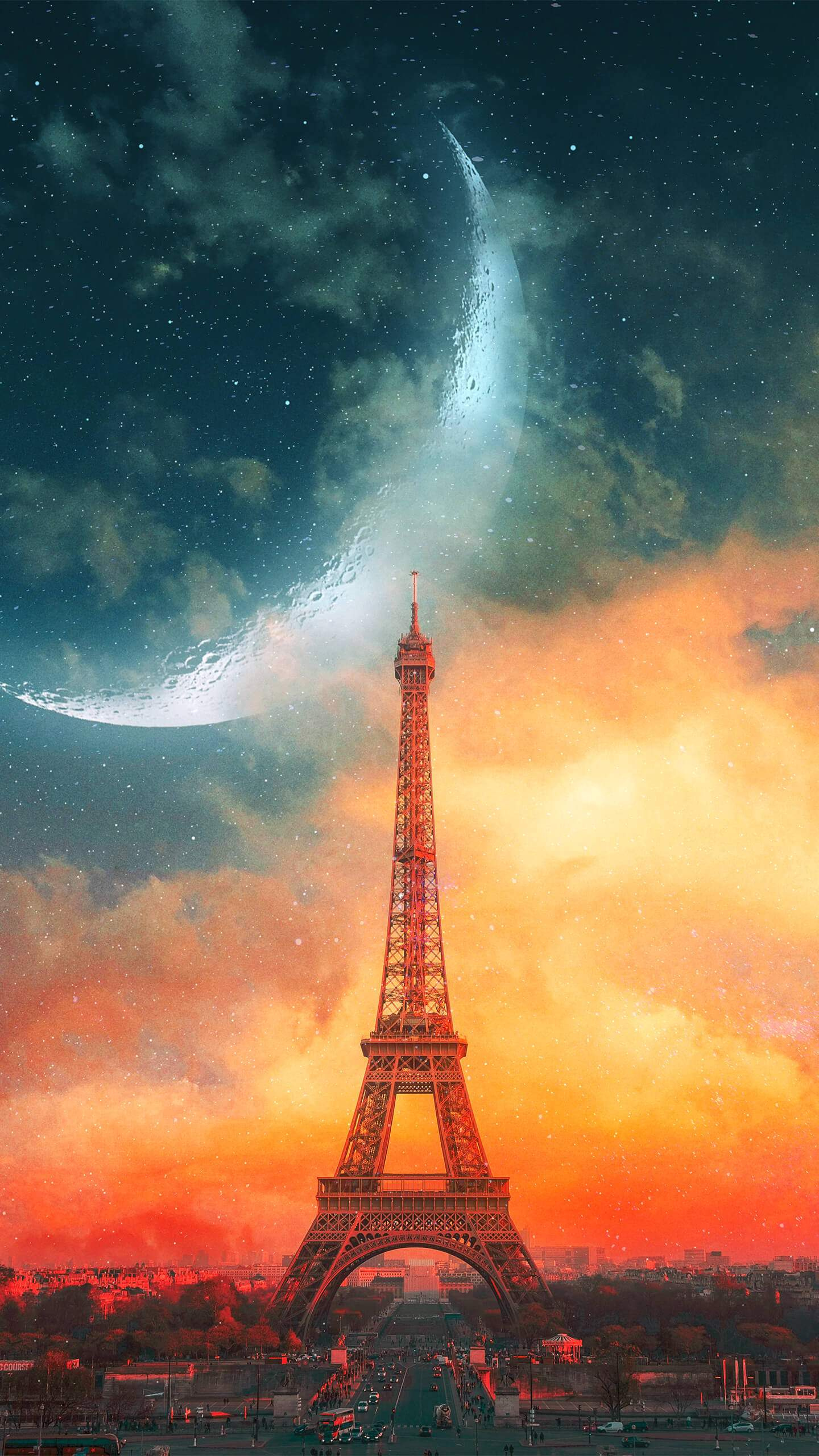 Cute Wallpapers For Girls Pc Paris Eiffel Tower Creative Iphone Wallpaper Iphone