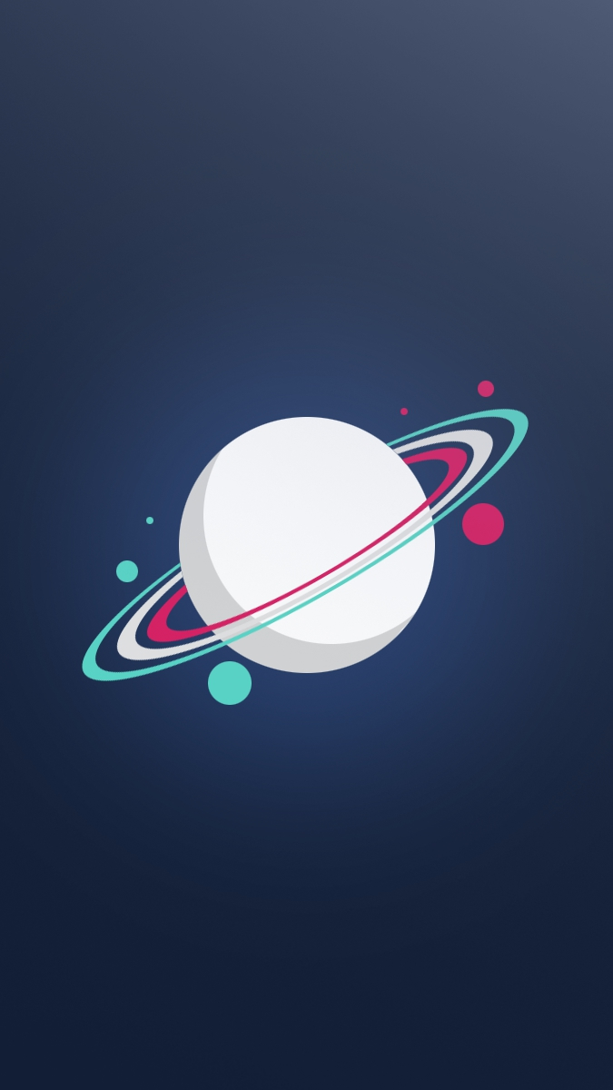 Iphone Wallpapers Com Saturn Planet Minimal Iphone Wallpaper Iphone Wallpapers
